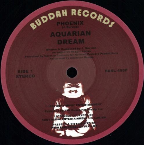Aquarian Dream - Phoenix/ East 6th Street - BDSL488P - BUDDAH