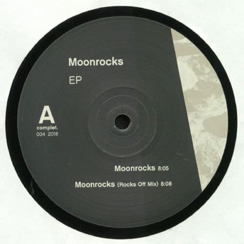 Comfort Zone - Moonrocks EP - CMPL004 - COMPLET.