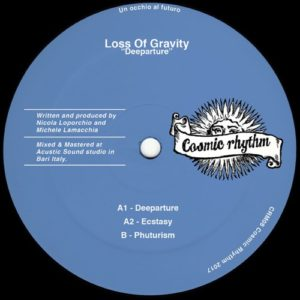 Loss Of Gravity - Deeparture - CRM08 - COSMIC RHYTHM