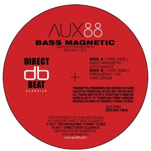 Aux 88 - Bass Magnetic - DBC4W-190 - DIRECT BEAT CLASSICS