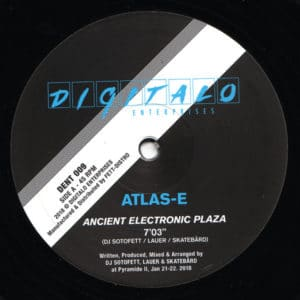 Atlas-E - Ancient Electronic Plaza - DENT0009 - digitalo enterprise