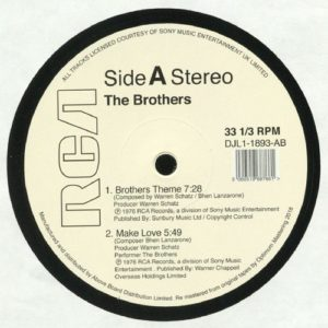 The Brothers - The Brothers Theme - DJL1-1893AB - RCA