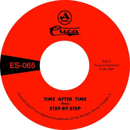 Step By Step - Time After Time / She's Gone - ES-065 - NUMERO GROUP
