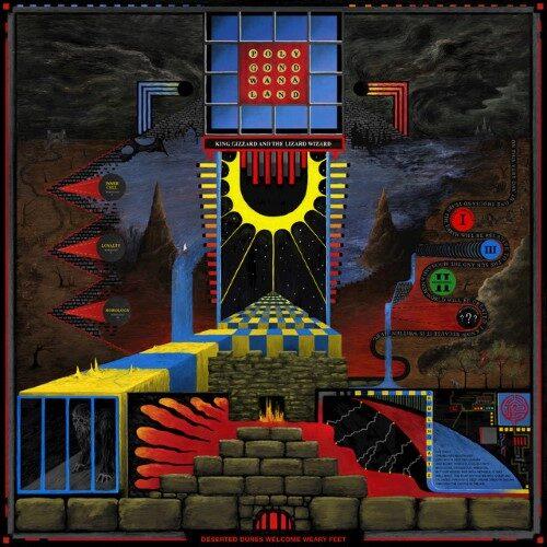 King Gizzard And The Lizard Wizard - Polygondwanaland (FUZZ Club Budget Version) - FCV12X - FUZZ CLUB