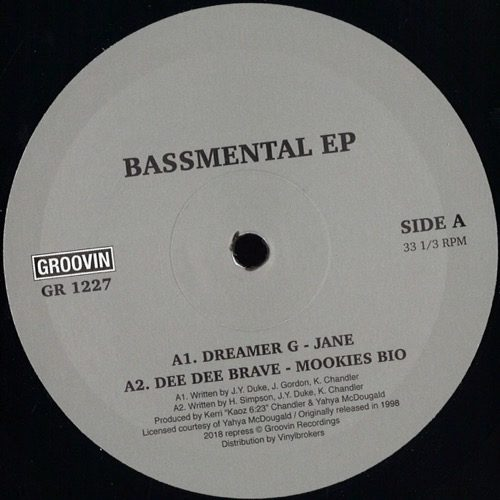 Various - Bassemental Ep - GR1227 - GROOVIN RECORDs