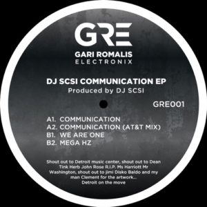 Dj Scsi - Communication Ep - GRE001 - GRE