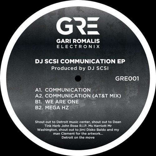 Dj Scsi - Communication Ep - GRE001 - GRE