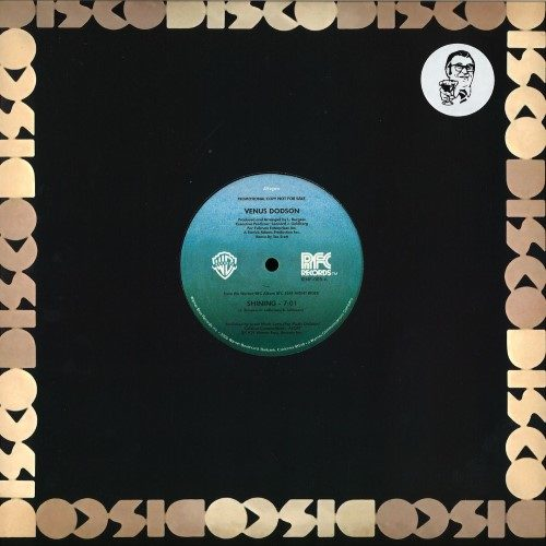 Venus Dodson - Shining - KINF005 - KINFINE RECORDS