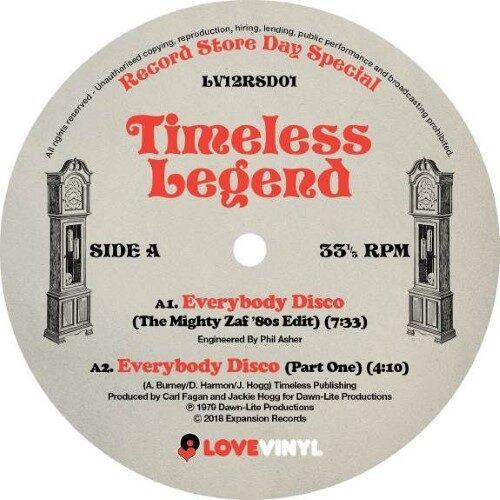 Timeless Legend - Everybody Disco - LV12RSD01 - LOVE VINYL