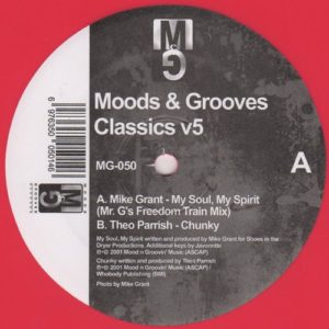 Mike Grant|Theo Parrish - Moods & Grooves Classics v5 - MG-050 - MOODS & GROOVES