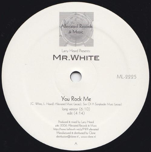 Larry Heard presents Mr White - The Sun Cant Compare / You Rock Me - ML2225 - ALLEVIATED RECORDS