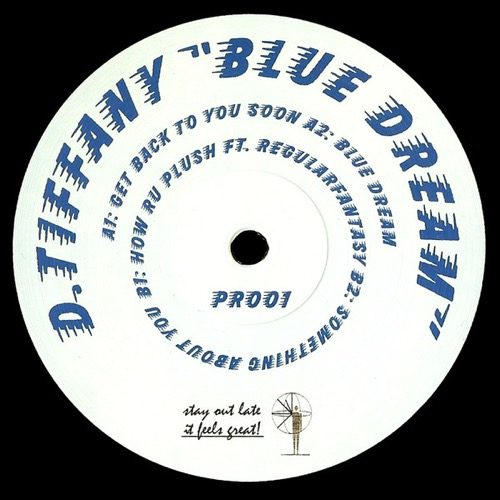 D.Tiffany - Blue Dream - PR001 - PACIFIC RHYTHM