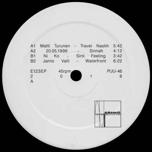 Various - E123 - PUU-46 - sähkö recordings