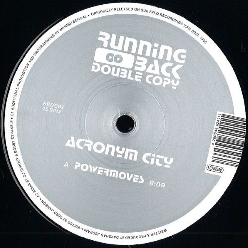 Acronym City - Powermoves - RBDC03 - RUNNING BACK DOUBLE COPY