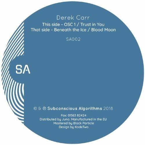 Derek Carr - SA002 - SA002 - SUBCONSCIOUS ALGORITHMS