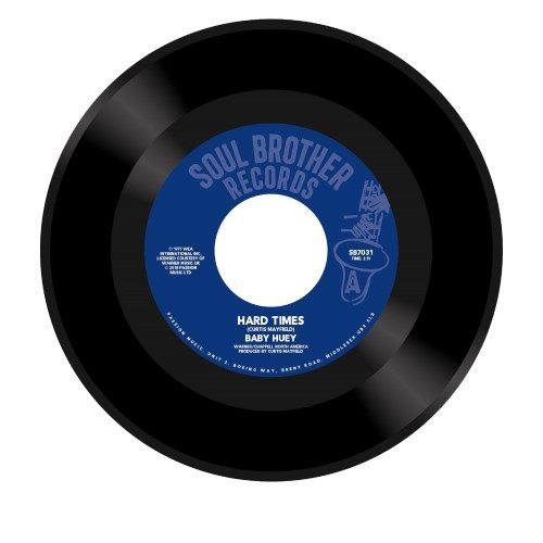 Baby Huey - Hard Times / Listen To Me - SB7031 - SOUL BROTHER