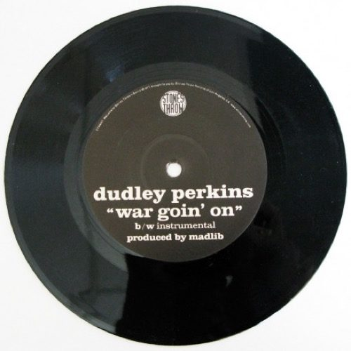 Dudley Perkins/Madlib - War Goin' On - STH4017 - STONES THROW