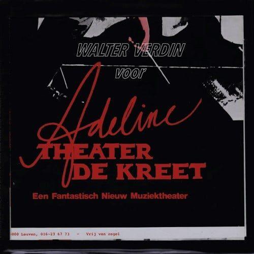 Walter Verdin - Voor Adeline - STREP011 - STROOM