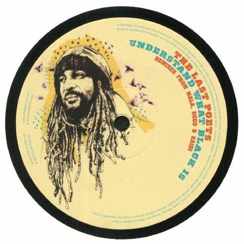 The Last Poets - Understand What Black Is (Remixes) - STUDR041 - STUDIO ROCKERS