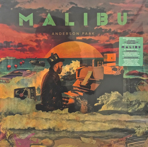 Anderson .paak - Malibu - SW234223 - STEEL WOOL