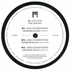 Len Leise/Jura Soundsystem - Dear Adrian/Udaberri Blues - TEMPLE001 - TEMPLES OF JURA