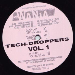 Tech-Droppers - Tech-Droppers Vol. 1 - WANIATD-1 - WANIA