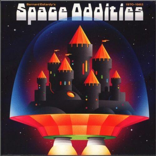 Bernard Estardy - Space Oddities 1970-1982 - BB103LP - BORN BAD RECORDS