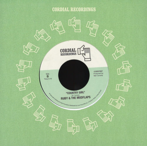 Ruby & The Mudflaps - Is That Enough? - CORD7007 - Cordial Recordings