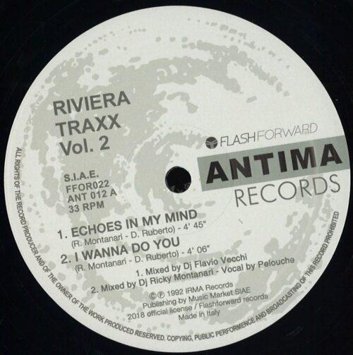 Riviera Traxx - Vol 2 - FFOR022 - FLASH FORWARD