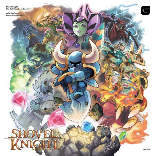 Shovel Knight/ Jake Kaufman & Manami Mat - Shovel Knight The Definitive Soundtrack - GS002 - BRAVE WAVE RECORDS