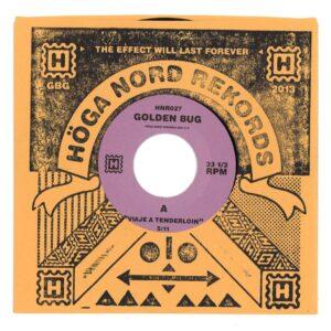 Golden Bug - Viaje A Tenderlion / Hitodoma - HNR027 - HOGA NORD REKORDS