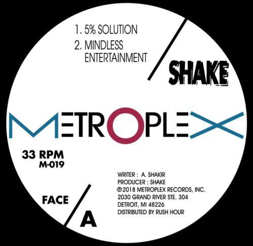 Shake - 500% Solution - M019 - METROPLEX