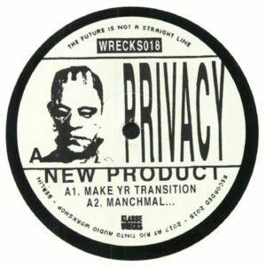 Privacy - New Product EP - Wrecks018 - KLASSE WRECKS