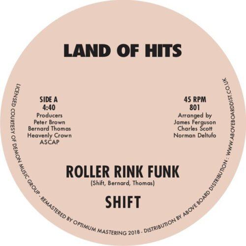 Shift - Roller Rink Funk - 801 - LAND OF HITS