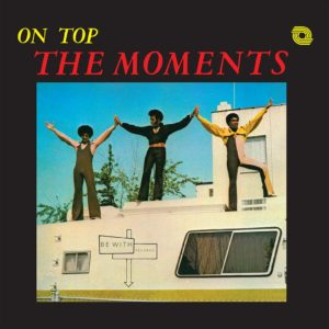 The Moments - On Top - BEWITH040LP - BE WITH RECORDS