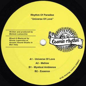 Rhythm Of Paradise - Universe Of Love - CRM09 - COSMIC RHYTHM