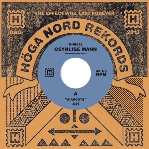 Osynlige Mann - Airports / Exodus - HNR028 - HOGA NORD RECORDS