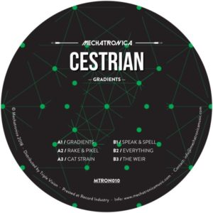 Cestrian - Gradients - MTRON010 - MECHATRONICA MUSIC