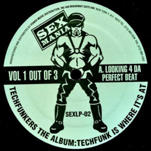 Techfunkers - Techfunkers The Album: Techfunk Is Where It's At Vol 1 - SEXLP-02 - SEX MANIA