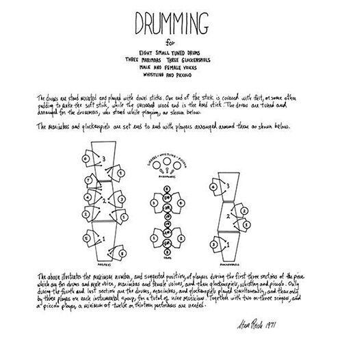 Steve Reich - Drumming - SV097LP - SUPERIOR VIADUCT