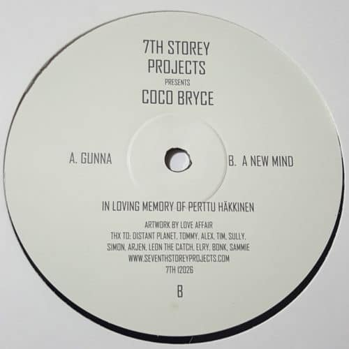 Coco Bryce - Gunna / A New Mind - 7TH12026 - 7TH STORY PROJECT 5