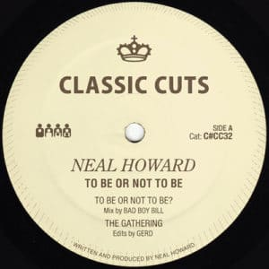 Neal Howard - To Be Or Not To Be EP - C#CC032 - CLONE CLASSIC CUTS