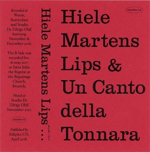 Hiele Martens - Lips & Un Canto della Tonnara - ECN21 - EDIÇÕES CN