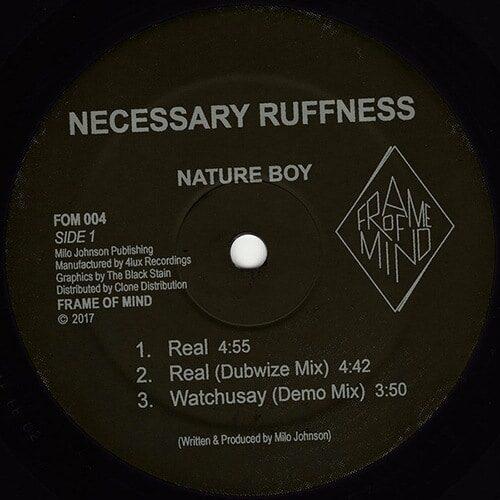 Nature Boy - Necessary Ruffness - FOM004 - FRAME OF MIND