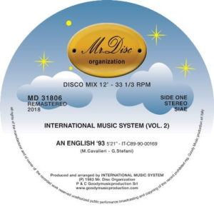 International Music System - International Music System Vol.2 - MD31806 - MR DISCO