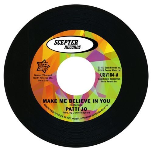 Patti Jo - Make Me Believe In You - OSV184 - OUTTA SIGHT
