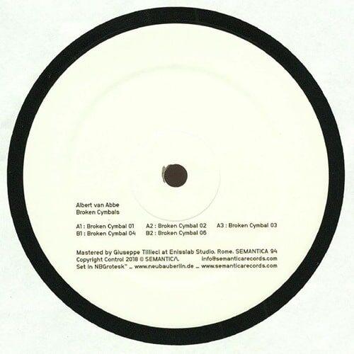 Albert van Abbe - Broken Cymbals - Sem094 - SEMANTICA RECORDS