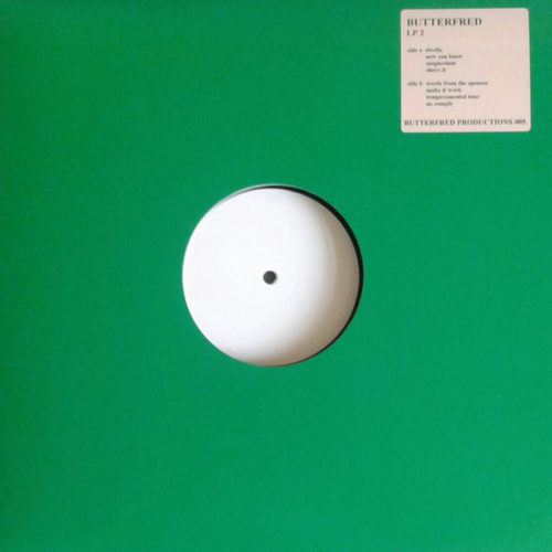 Butterfred - LP 2 - BFP005 - BUTTERFRED