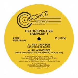 Various - Big Shot Records Retrospective Sampler 1 - BRAB18-001 - BIG SHOT RECORDS