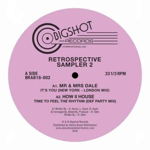 Various - Big Shot Records Retrospective Sampler 2 - BRAB18-002 - BIG SHOT RECORDS